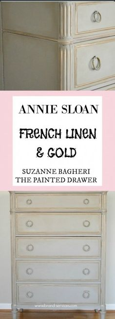 ANNIE SLOAN FRENCH LINEN AND GOLD