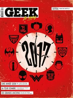 Geek Magazine - N° 16 - Janvier & Février 2017 La Tour Sombre, Geek Magazine, Mars 2017, France, Marie, Movie Posters, Film Poster, Popcorn Posters, Early French