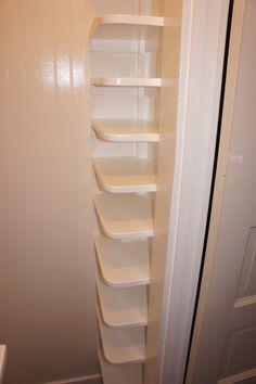 Girls new closet shoe rack