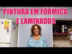 Como pintar móveis de FÓRMICA e LAMINADOS - Fácil e BARATO!!! #DIY - YouTube