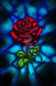 Eternal Rose by xAteyox.deviantart.com on @DeviantArt