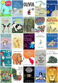 Sharing 50 of the BEST Children's Books | Have you read some of these? #ebay