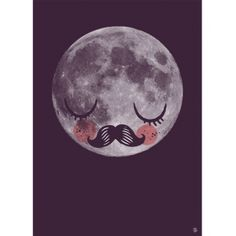 Martin Krusche Moon Print - For J