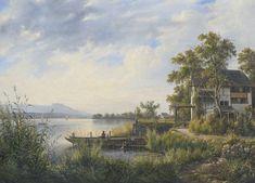 JOHANN JAKOB ULRICH LANDGUT AM ZÜRICHSEE, 1826