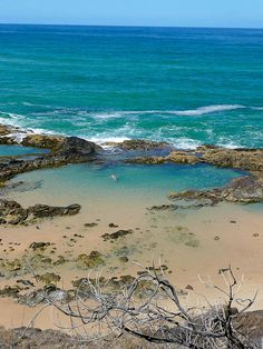 Champagne pools on Fraser Island, Queensland, Australia Wallis Y Futuna, Islas Pitcairn, Islas Marianas Del Norte, Islas Cook, Islas Marshall, Oh The Places You'll Go, Places To Travel, Places To Visit, Queensland Australia