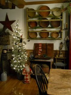 country home tammy tarng sheffield primitive christmas decorating primitive country christmas prim - Pinterest Primitive Christmas Decorating Ideas