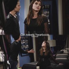 Girl Meets Yearbook - Girl Meets World - Riley x Farkle - Riarkle
