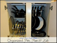 Organizing Pots, Pans