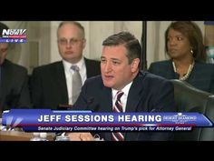 JANUARY 10, 2017 SENATOR TED CRUZ WENT OFF ON DEMOCRATS AT JEFF SESSIONS HEARING [VIDEO]---BAM!! JUST THE THINGS CRUZ LISTS OFF, WHY WASN'T THIS MAN IMPEACHED! LAW AFTER LAW BROKEN AND DEMS DID NOTHING!