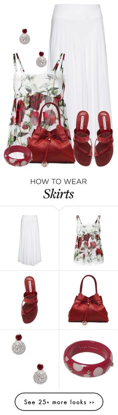 """D&G Top"" by terry-tlc on Polyvore"