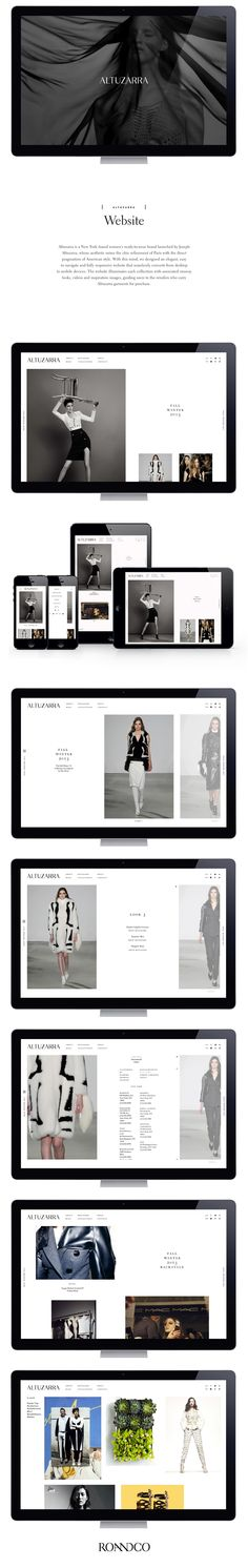 Altuzarra is a New York–based women's ready-to-wear brand launched by Joseph Altuzarra, whose aesthetic mixes the chic refinement of Paris with the direct pragmatism of American style. With this mind, we designed an elegant, easy to navigate and fully res…