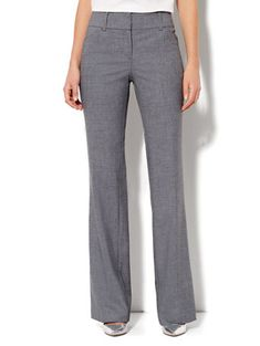 9e8775c6998 Petite Bootcut Pant - Carlson Grey - 7th Avenue. Dress Slacks ...