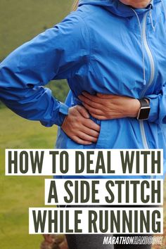 The side stitch while running: a crazy-annoying injury that every runner out there has experienced and agonized over.Who hasn't felt that shooting pain in the side? Who hasn't had to fall short of their running goal because of it?It seems like they come out of nowhere.You're out enjoying your run, and then it happens. 5k Running Tips, How To Start Running, Running Workouts, Fun Workouts, Running Drills, Running Injuries, Half Marathon Motivation, Marathon Tips, Running Motivation