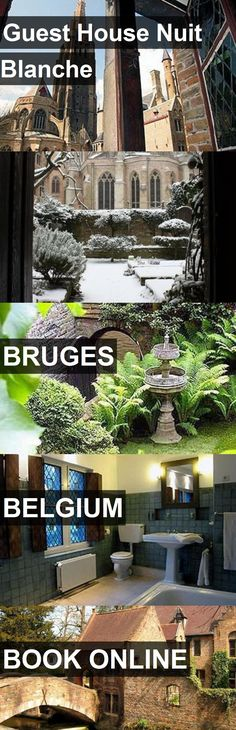Guest House Nuit Blanche in Bruges, Belgium. For more information, photos, reviews and best prices please follow the link. #Belgium #Bruges #travel #vacation #guesthouse