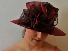 Abby - Hat Borrower Red Feather, Red Media, Red Band, Brim Hat, The Borrowers, Hats, Business, Products, Fashion