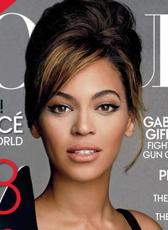 Beyonce has such a natural look!