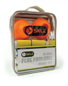 Sklz 10 Man Flag Football New Deluxe Set