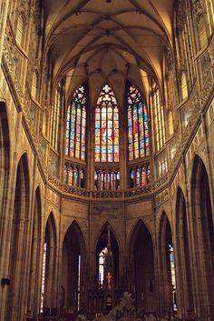 St. Vitus Cathedral, Prague via Flickr.