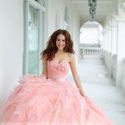 Pink dress - TaipeiRoyalWed.tw 台北蘿亞結婚精品 粉紅晚禮服