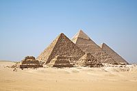 All Gizah Pyramids. Heres a list of all the museums that have Egyptian artifacts.