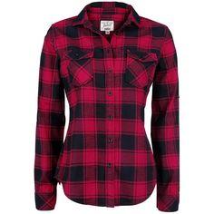 Amy Flanell - Rutete skjorte - Flanellskjorte etter Brandit