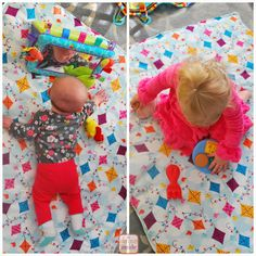 When Miss S was born, the EMTs gave us a blanket- how nice!! It is kinda thick so we've used it more as a playmat than a blanket.    The bl...