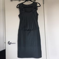 CALA Dress from Israel size SM Never worn. Brand new dress size small. Dark grey color stretchy flattering fabric Cala Dresses Midi