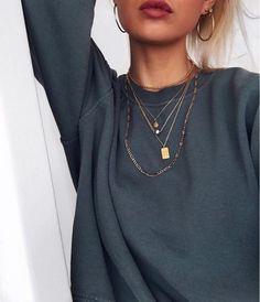 Styling by nannakrautwald showing Dog Tag Pendant Gold #jewellery #Jewelry #bangles #amulet #dogtag #medallion #choker #charms #Pendant #Earring #EarringBackPeace #EarJacket #EarSticks #Necklace #Earcuff #Bracelet #Minimal #minimalistic #ContemporaryJewellery #zirkonia #Gemstone #JewelleryStone #JewelleryDesign #CreativeJewellery #OxidizedJewellery #gold #silver #rosegold #hoops #armcuff #jewls #jewelleryInspiration #JewelleryInspo #accesories #DanishDesign #JewelryStyling #Diamonds #14k…