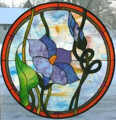 Stained+Glass+Patterns+Flowers | The Vinery Glass Studio for all your stained glass, lampworking ...