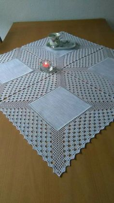 Crochet Doilies, Embroidery, Watches, Holiday Decor, Home Decor, Dining Table Runners, Crochet Dishcloths, Linen Tablecloth, Tricot Crochet