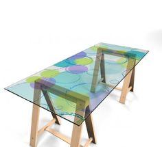 Selbstklebende Tischfolie Möbel & Wohnen Tischfolien 317613
