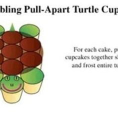 ... The Very Best Inspiration | Turtle Party, Turtles and Turtle Cupcakes