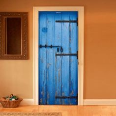 Style your door trompe-l'oeil Greece Door by Couture Deco