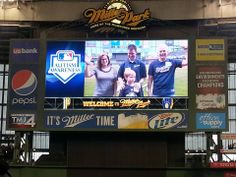 Milwaukee Brewers Host Autism Awareness Night at Miller Park