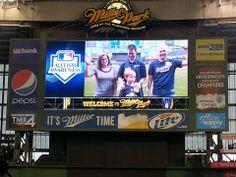 Milwaukee Brewers Host Autism Awareness Night at Miller Park