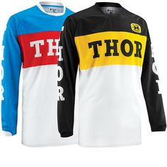 2015 gone retro with these old school Jerseys Thor Phase 2015 Pro GP #Motocross Jersey