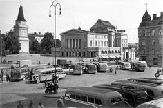 Old Buildings, Helsinki, Old Photos, Finland, Nostalgia, Country, Retro, Historia, Old Pictures