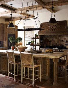rustic tuscany kitchen