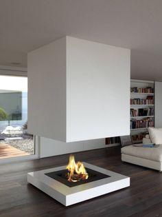 Biokamin: die neue Alternative zum klassischen Kaminfeuer