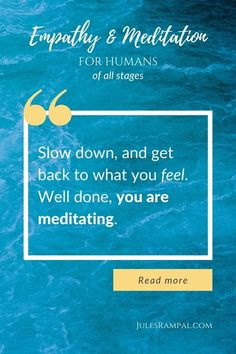 How to meditate? Just make a step back and slow down. Feel more, and relax. This is meditation. Slow Down, Get Back, Read More, Meditation, How Are You Feeling, Relax, Feelings, How To Make, Life