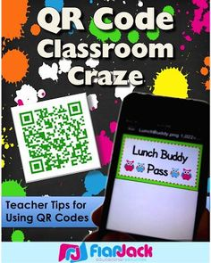 QR Code Classroom Craze - tons of tips, freebies, and resources to help you implement QR codes in your classroom!