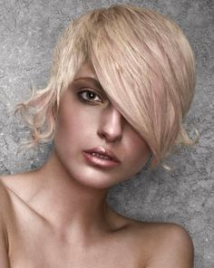 Long Bangs Punk Hair Style 2014