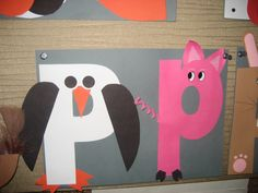 """Pp"" Letter of the week art project"