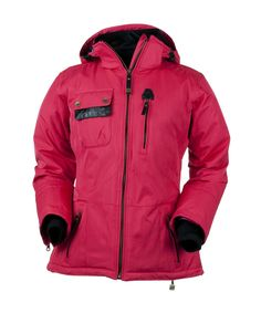 ef5600815ad My ski coat is a bright pink