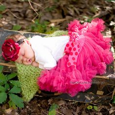 I don't have anymore babies to do this with, but this is just precious!