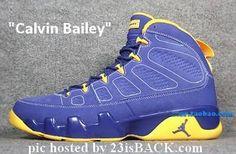 Calvin Bailey - Air Jordan Retro 9