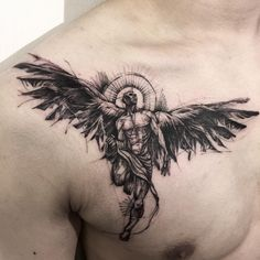 "1,601 Likes, 17 Comments - Bk_tattooer (@bk_tattooer) on Instagram: ""Angel """