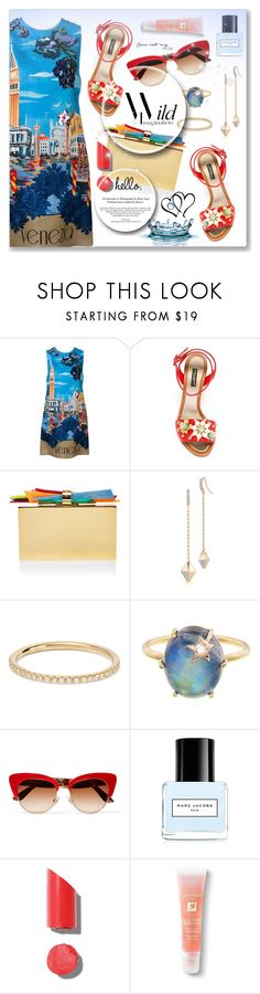 """""""Good night :*"""" by dressedbyrose ❤ liked on Polyvore featuring Dolce&Gabbana, Edie Parker, Walters Faith, Ileana Makri, Andrea Fohrman, Marc Jacobs, Chanel, Lancôme and polyvoreeditorial"""