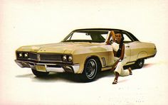 1967 Buick Skylark Sport Coupe by coconv on Flickr.
