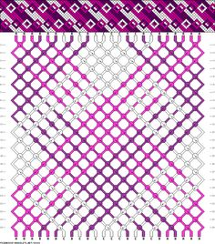 Muster # 38024, Streicher: 24 Zeilen: 24 Farben: 3
